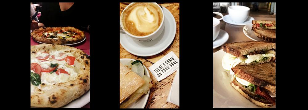 Top 3 Food places Milan